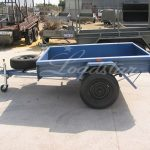 6x4 Tipper trailer side