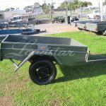 6x4ft Trailer side view