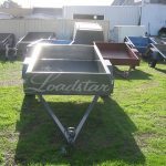 6x4ft Trailer front view