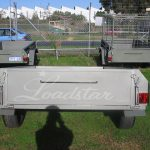 6x4ft Trailer rear view
