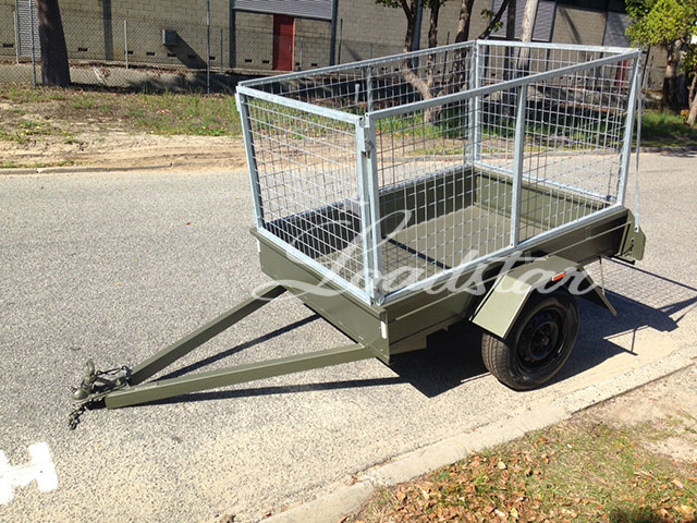 6x4 City Cage Trailer