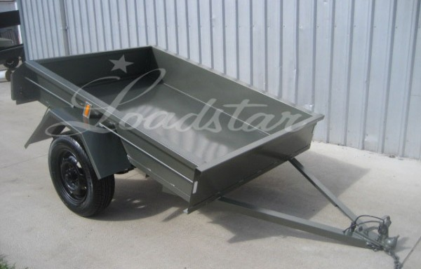 6x4ft 12 inch City Trailer