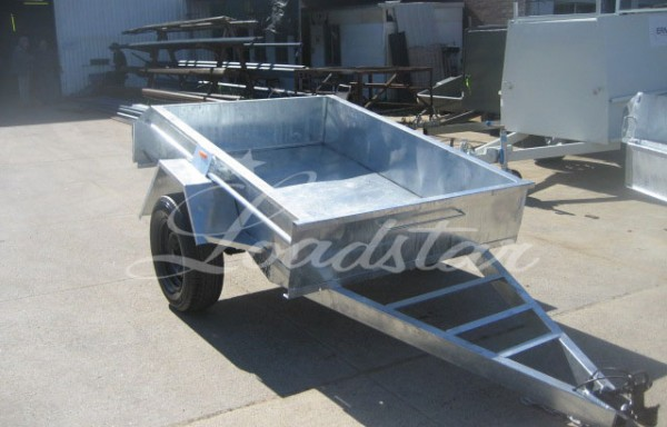 6x4ft 14 inch Trailer Galvanized
