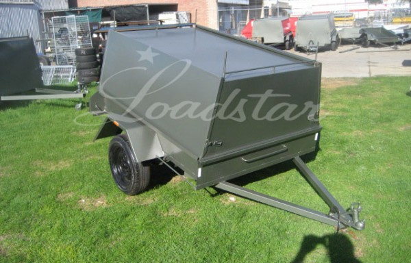 6x4ft Economy Tradesman Trailer