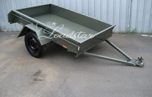 7x4ft 12 inch City Trailer