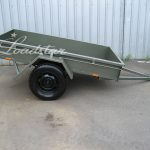 7x4 City Trailer Side view