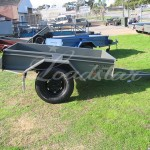 7x4 off road trailer side on view
