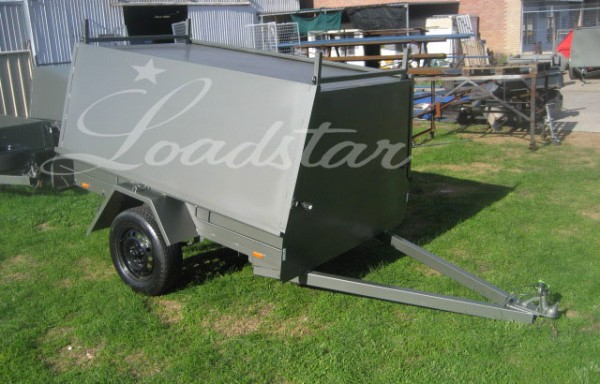 7x4ft Tradesman Trailer