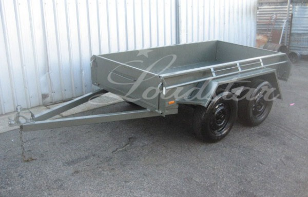 8x4ft 5 Leaf Rocker Trailer (Heavy Duty)