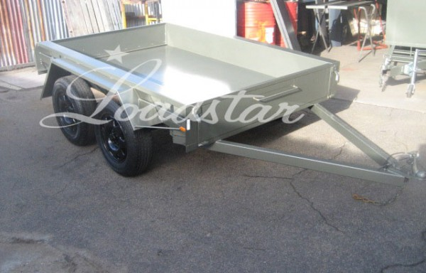 8 ft Tandem Axle Trailers