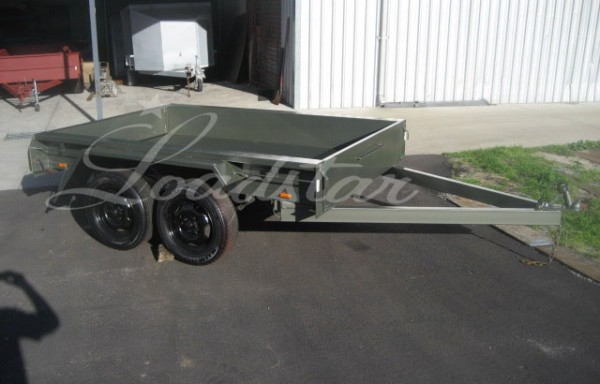 8x5ft 5 Leaf Slipper Trailer (Heavy Duty)