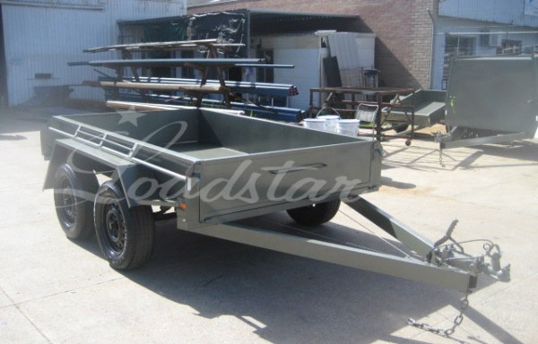 8x5ft 7 Leaf Rocker Trailer (SUPER)