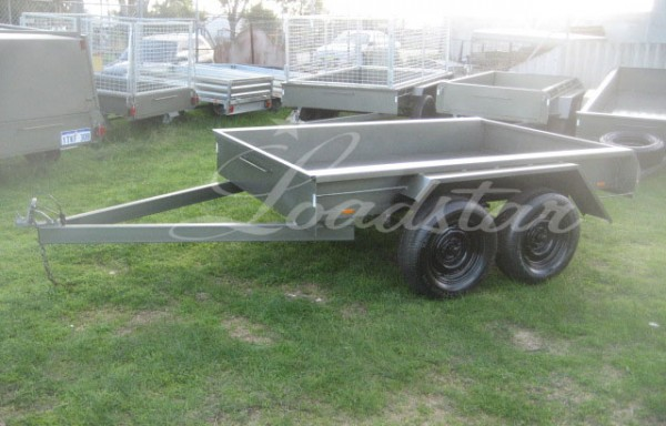 8x5ft 4 Leaf slipper City Trailer