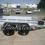 8x5 Galv Trailer side view