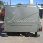 8x5 Tradesman 2 tonne rear view
