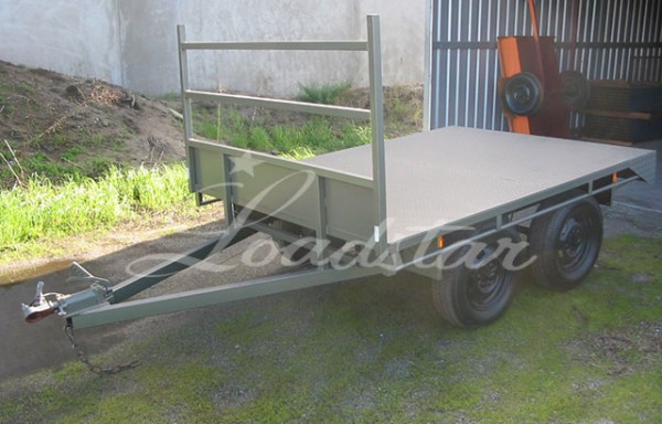 8x6ft Flat Top Trailer