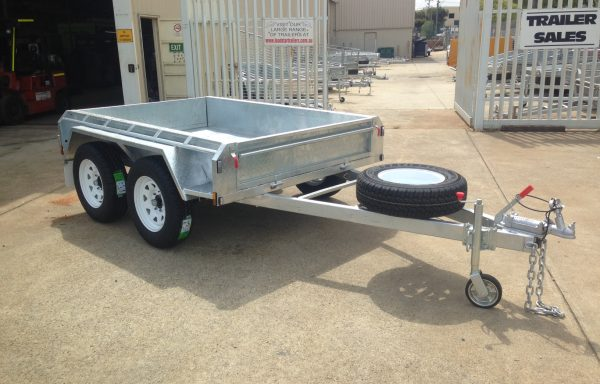 8 x 5ft Tandem Offroad Galvanised Trailer