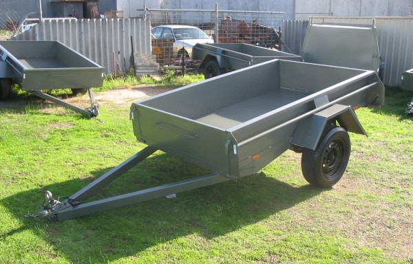 7 ft Single Axle Trailers