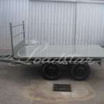 10x6 Flat top trailer side view
