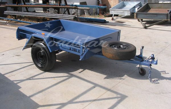 6x4ft Tipper Trailer