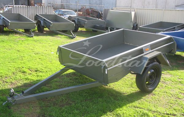 6x4ft 14 inch Dual Door Trailer