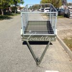 6x4 City Cage Trailer front view