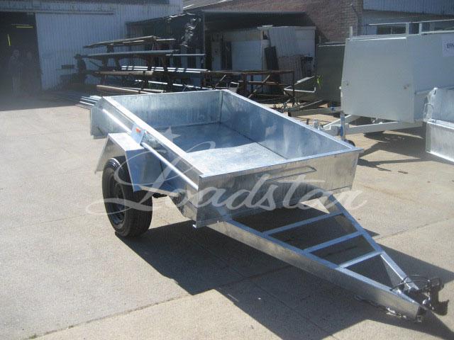 6x4 Galv trailer