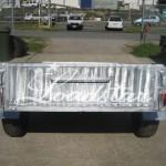 6x4 Galv trailer rear view