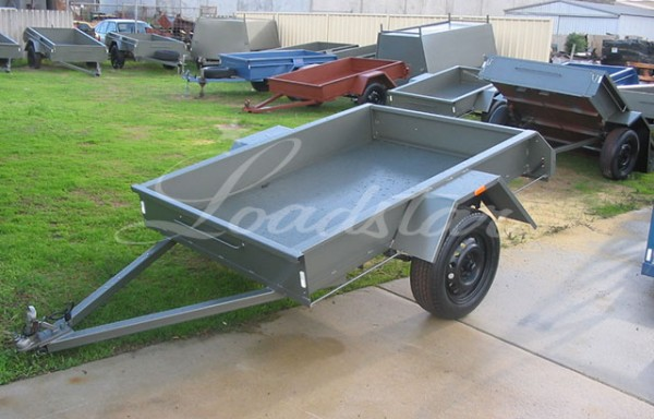 6x4ft 10 inch Heavy Duty Garden Trailer