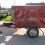 6x4 Luggage trailer side view