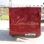 6x4 Luggage trailer rear view