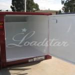 6x4 Luggage trailer open