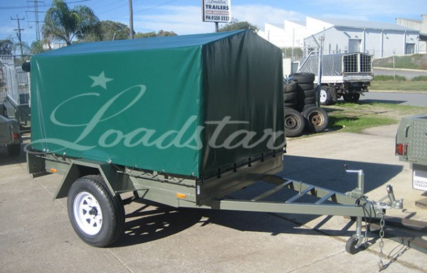 PVC Covered Trailers
