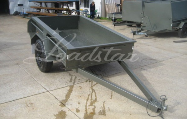 7x4ft Deluxe Offroad Trailer