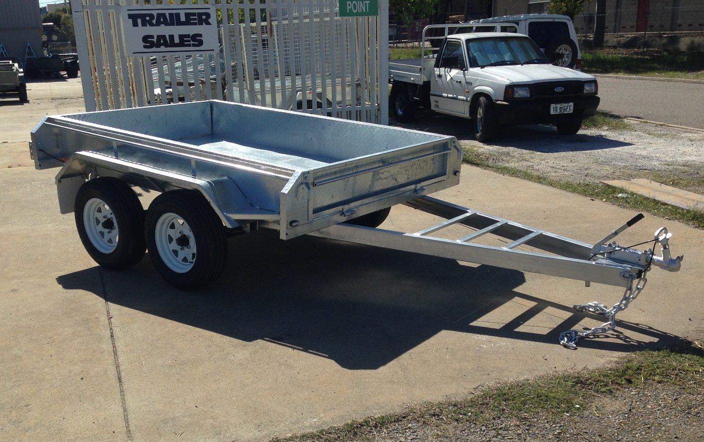 8x5 ft Galvanised Trailer