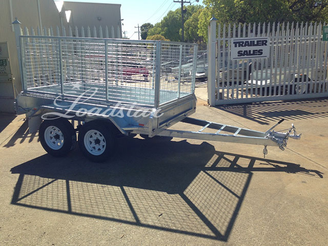 Galv Caged trailer 8x5