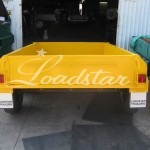 8x5 off road trailer yellow
