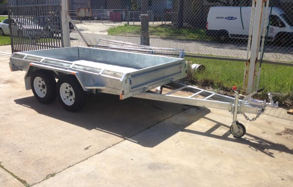 10 x 5 Galvanised Tandem Trailer with Brakes