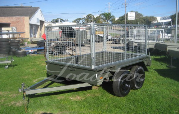 8x5ft Tandem Trailer with 900mm Cage