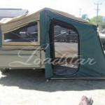 Camper rear view