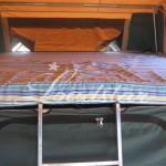Camper open inside